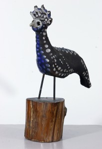 Julio de Diego (1900-1979) Rooster, n.d. ceramic and wood Gift of the Estate of Adrian and Sophie Siegel
