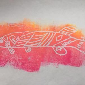 WAAM 2017 - 4 Mg Fish Print Warm Sturgeon