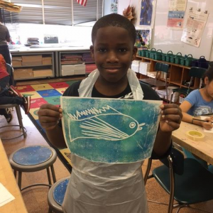 WAAM 2017 -4 Mo Chris holding Fish Print