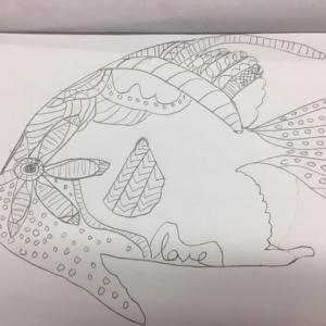 WAAM -4th Fish Sketch 4