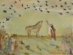 Elin Menzies: Wolf Crossing