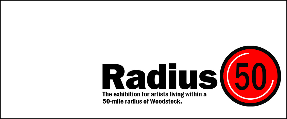 The exhibition for artists living within a 50 mile radius of Woodstock