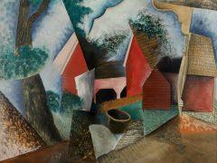 Amanda Bogatka on Konrad Cramer's Barns and Corner Porch