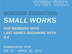 SMALL WORKS – Last names O-Z (WAAM members only)