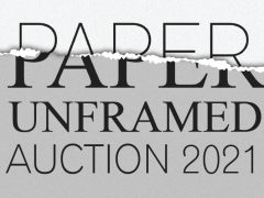 Paper Unframed Online Benefit Sale 2021