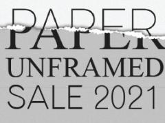 Paper Unframed: Online Benefit Art Auction