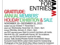 Gratitude: Annual Members' Holiday Exhibition & Sale